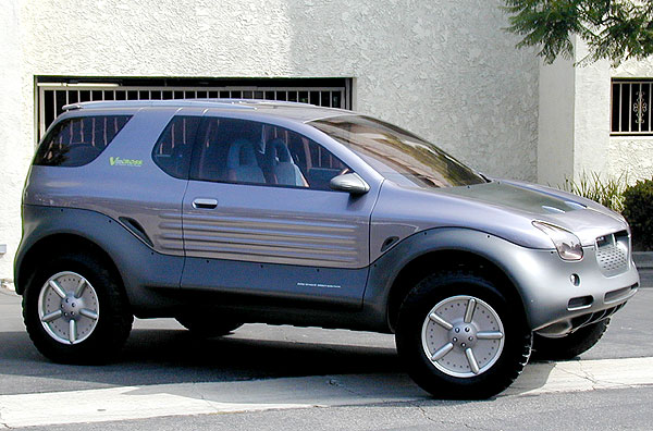 Photo of VX concept taken at Isuzu HQ, by Daver!