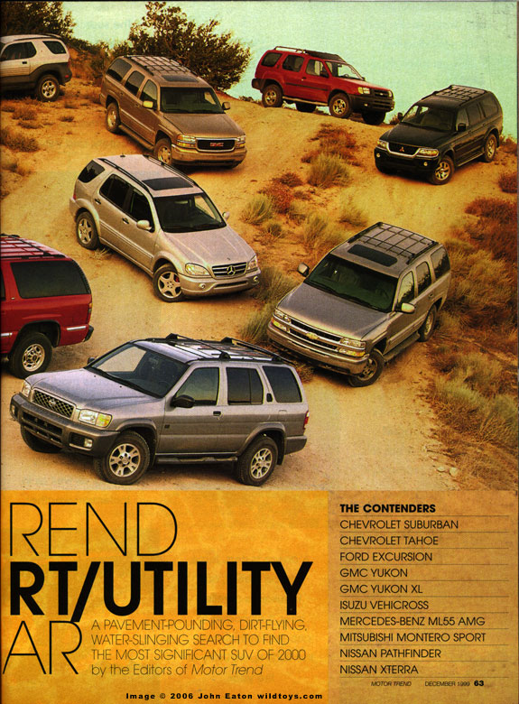 Vehicross tribute page for New deal online motor trend